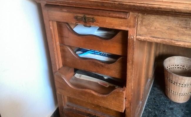 Restauración escritorio Buró
